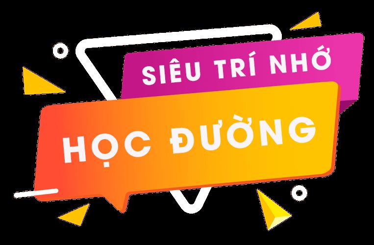 Banner siêu trí nhớ học đường trinhohocduong.com.vn