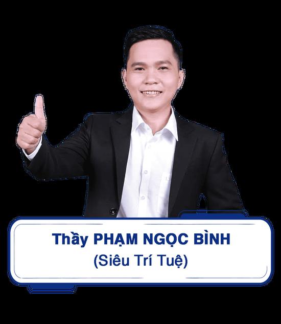 Giáo viên siêu trí nhớ học đường Thầy Phạm Ngọc Bình